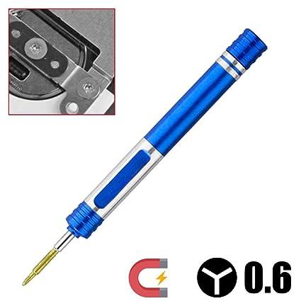 Ociodual Destornillador Y 0.6 mm Tri Wing Tri Point Tres Puntas para iPhone 7/8/X/Plus Apple Watch Azul