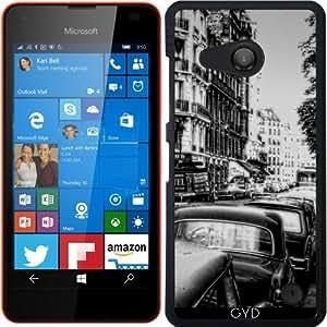 Funda para Microsoft Lumia 550 - Calle Paris Vendimia by Blooming Vine Design