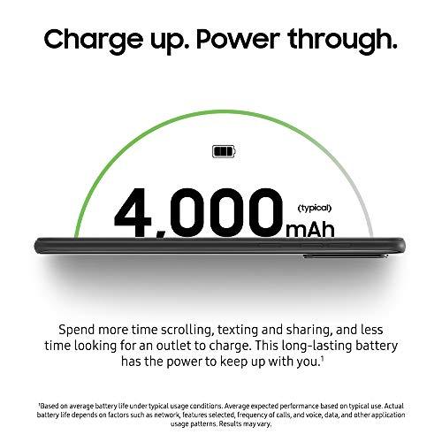 "Samsung Galaxy A21 LTE Verizon | 6.5"" Screen | 32GB of Storage | Long Lasting Battery | Single SIM | 2020 Model | US Version | Black - (SM-A215UZKAVZW)"