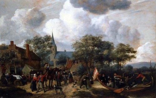 Jan Steen Village Festival with the Ship of Saint Rijn Uijt - 18.1