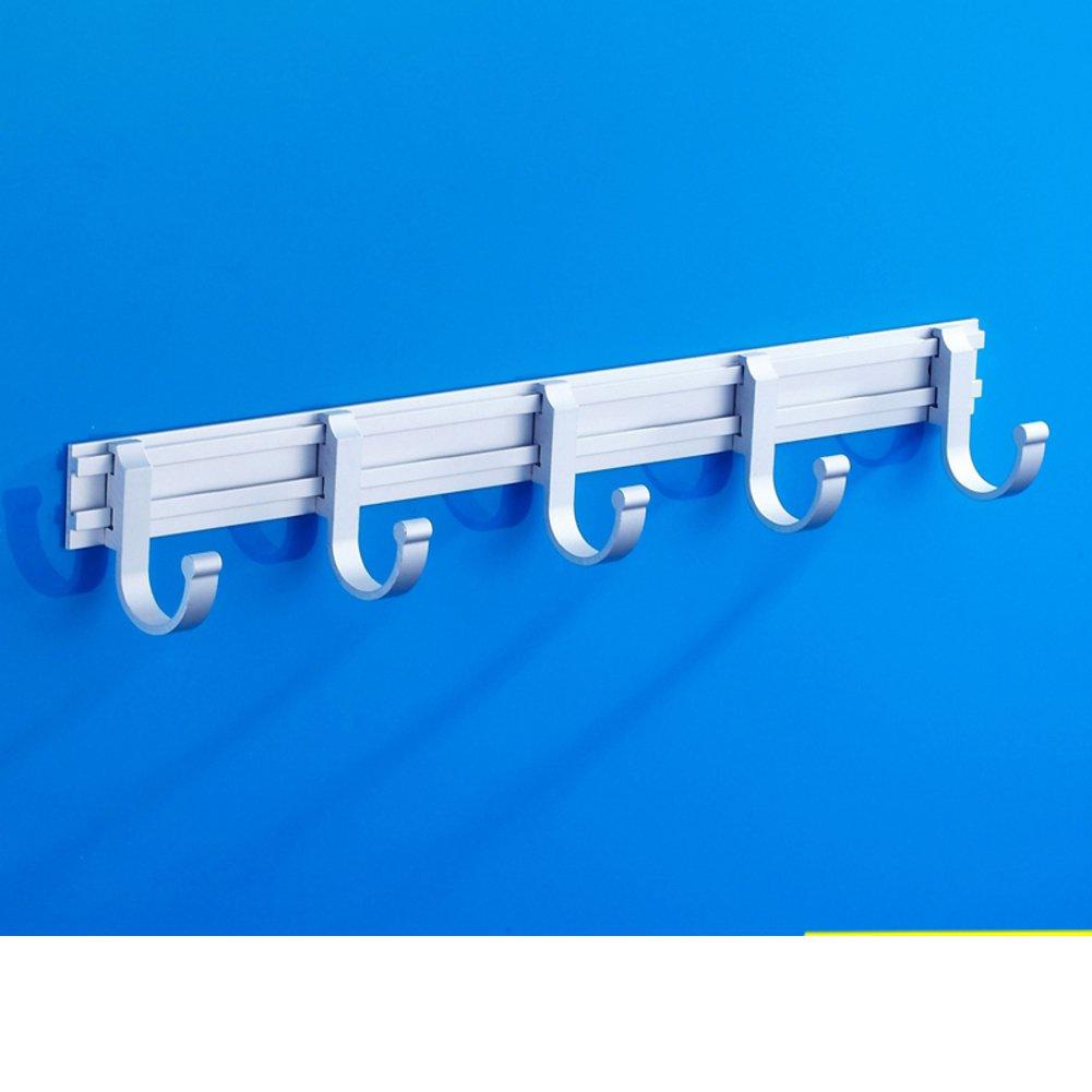 Bathroom hook/ space aluminum gig/ bathroom hooks/ wall-mounted coat hook/ Towel hook-D low-cost