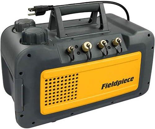 [해외]Fieldpiece 블랙 Vp85 2단계 8 Cfm 진공 펌프 / Fieldpiece 블랙 Vp85 2단계 8 Cfm 진공 펌프