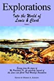 Explorations into the World of Lewis and Clark V-1 of 3, , 1582187614