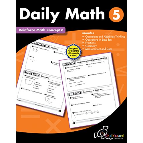 Daily Math Grade 5 (Chalkboard Publishing Workbooks)