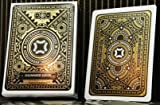 Mechanic Industries GLIMMER DECK - Gold Metallic Playing Cards made by USPCC - Marked - Limited Edition