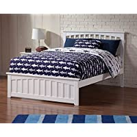 Full Bed with Matching Footboard (Natural)