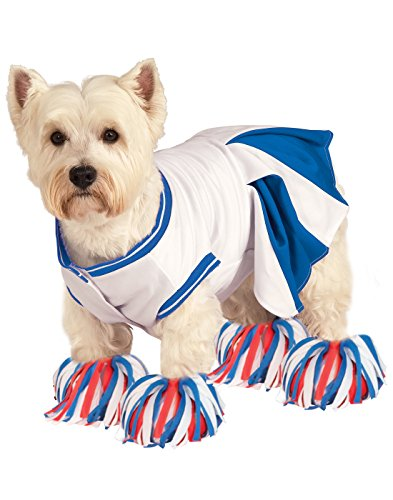 Heroes Cheerleader Costume Halloween (Rubie's Deluxe Cheerleader Pet Costume, Large)