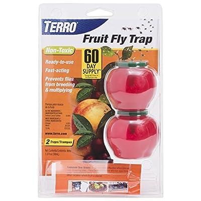 Woodstream TERRO Fruit Fly Trap - 2 Pack VAR