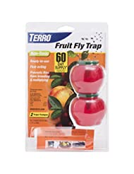 TERRO Fruit Fly Trap – 2 Pack T2502