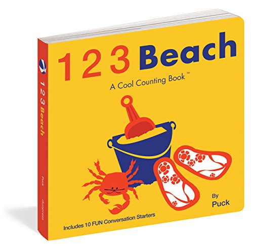 123 Beach (Cool Counting Books) Puck