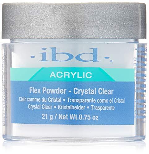 IBD Flex 71828 Crystal Clear Powder, 0.75 Ounce ()