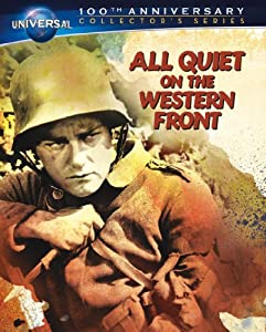 Cover Image for 'All Quiet on the Western Front Collector's Series [Blu-ray Book + DVD + Digital Copy]'
