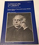 img - for Literature of Liberty Winter 1980 book / textbook / text book