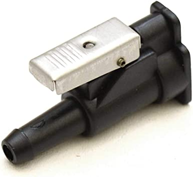 38//-inch Moeller Johnson//Evinrude Female Barb Fuel Line Engine Connector