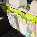 Kids Car Auto Trunk Organizer Seat Cover Toys Storage Phone iPhone Holder BagsiColorFGreenj
