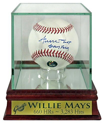 (SF Giants Willie Mays Autographed Official MLB Baseball w/