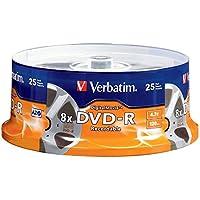 Verbatim DVD-R 4.7GB 8X - DigitalMovie Surface - 25pk Spindle