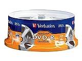 Verbatim Digital Movie DVD-R 4.7GB 8X 25 Disc Spindle 94866