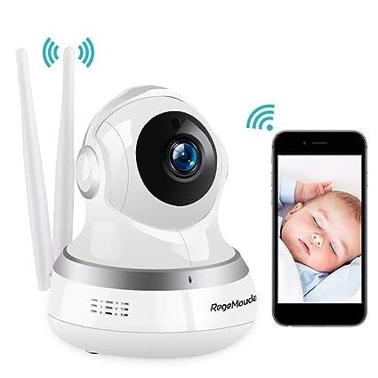 Cámara IP WiFi, RegeMoudal Camaras de Vigilancia WiFi Interior Inalámbrico HD 1080P Cámara de Seguridad