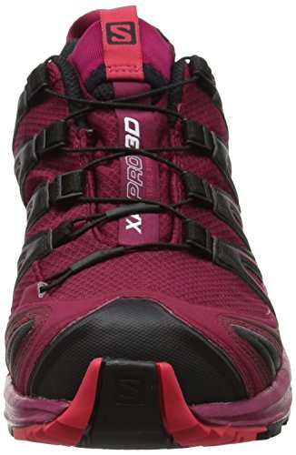Salomon Mujeres Xa Pro 3d Gtx W Trail Runner Beet Red / Sangria (exclusivo De Hdo Sport)