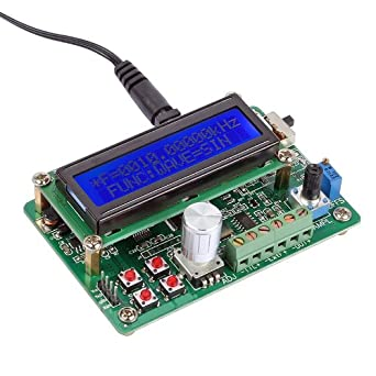 SainSmart UDB1002S DDS Signal Generator, 2MHz Sweep Function Source Rev3 0  PC Serial Ports COMM