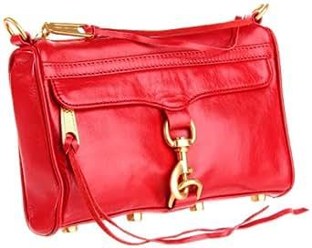 Rebecca Minkoff  Mini Mac H652B01P Shoulder Bag,Red,One Size