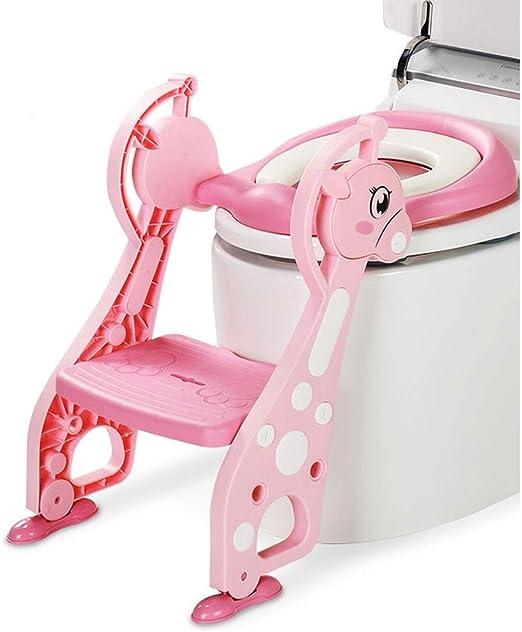Orinal Infantil Entrenamiento for ir al baño de asiento de inodoro for niños WC Escalera Mujer