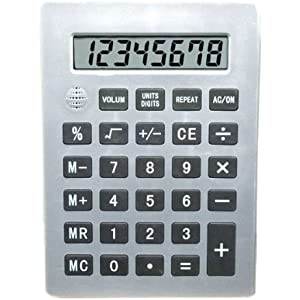 Jumbo 8-Digit Talking Calculator