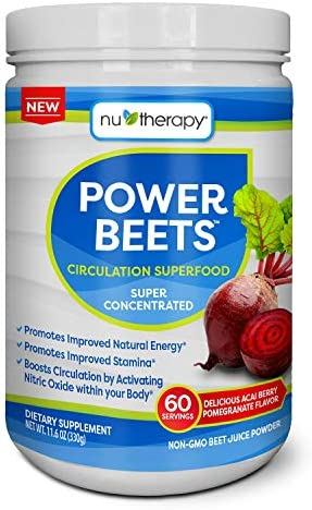 Nu-Therapy Power Beets Juice Powder 60'serving