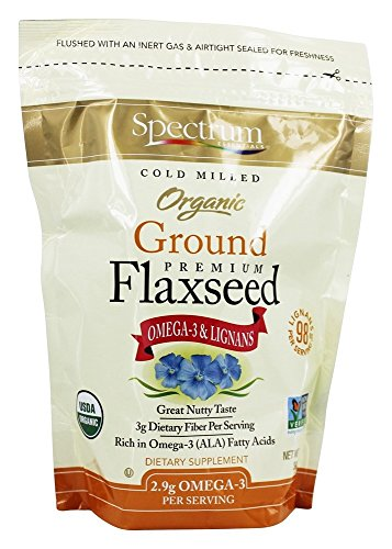 Essential Flax Seed (Spectrum Essentials - Organic Ground Premium Flaxseed - 14 oz (pack of 2))