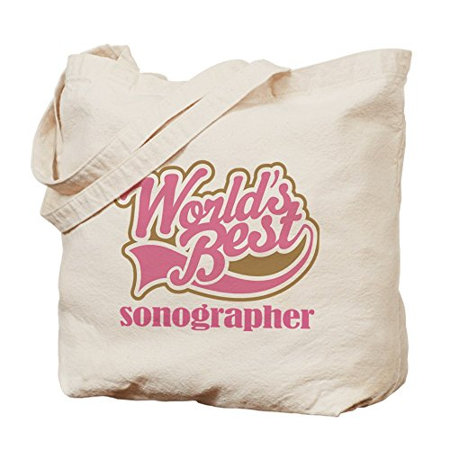 CafePress Tote Bag-Sonographer Worlds Best) (Tote Bag