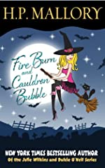 Fire Burn And Cauldron Bubble (Jumbo E-Book 3-in-1): A Paranormal Romance Series (Jolie Wilkins)