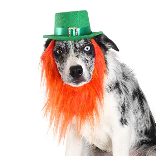 FOMATE Green Hat Costumes for Saint Patrick's Day (Dog)
