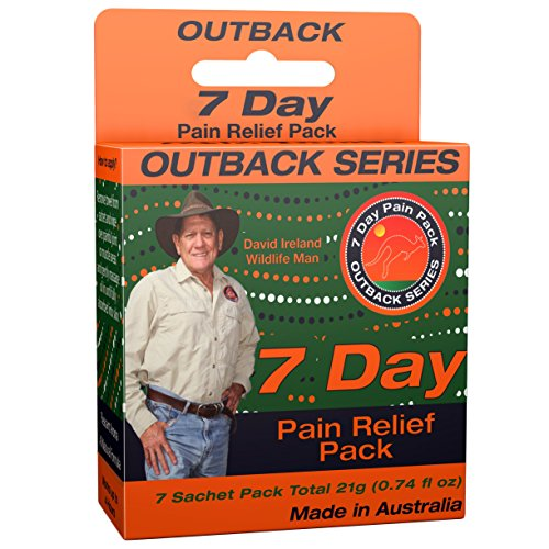Outback Pain Relief – Natural Topical Oil – 7 Pack of 3mL Sachets