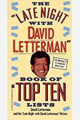The Late Night with David Letterman Book of Top Ten Lists Paperback