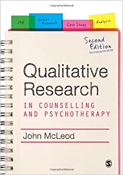 Book Qualitative Research in Counselling and Psychotherapy