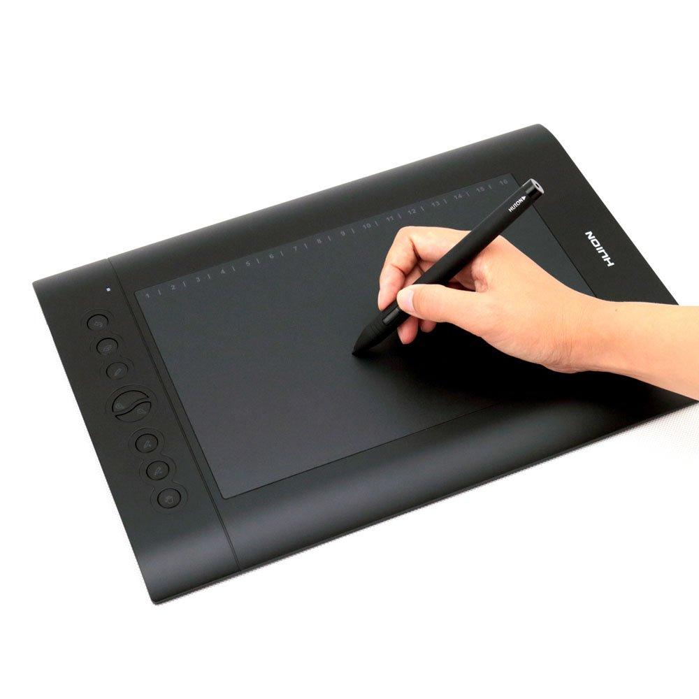 HUION H Pro Tableta Gráfica Niveles de Presión Del Lápiz Tamaño Grande
