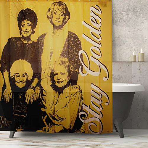 Golden Girls Collectibles | Golden Girls Stay Golden Shower Polyester Curtain