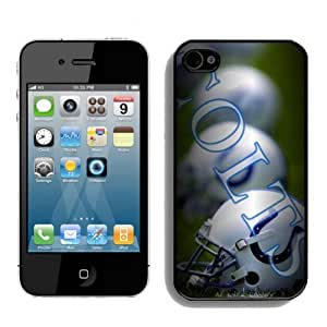 SevenArc Unique Design 2014 Style NFL Indianapolis Colts Iphone 4s or Iphone 4 Case Hot