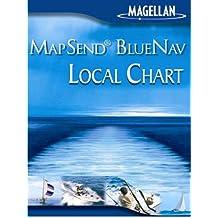 Magellan MapSend BlueNav Local Chart Florida SW Freshwater Map microSDCard