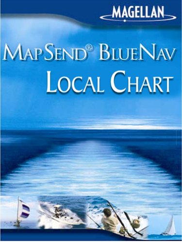(Magellan MapSend BlueNav Local Chart Lake Superior, West Freshwater Map microSD Card)