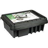 Dri-Box FL-1859-330 IP55 Väderbeständig Låda Kopplingsbox för Elektriska Apparater och Kablar, Svart, Stor