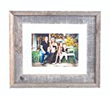 BarnwoodUSA 22x28 Signature Reclaimed Wood Float Frame Designed for 20x24 or smaller photograph, artwork