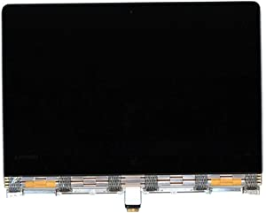 """For Lenovo 13.3"""" QHD+ 3200x1800 IPS LCD Screen LED Display with Touch Digitizer and Golden Cover Cable Hinges Full Complete Assembly 5D10K26885 Yoga 900-13ISK 80MK 80SD Yoga 900-13ISK2 80UE"""