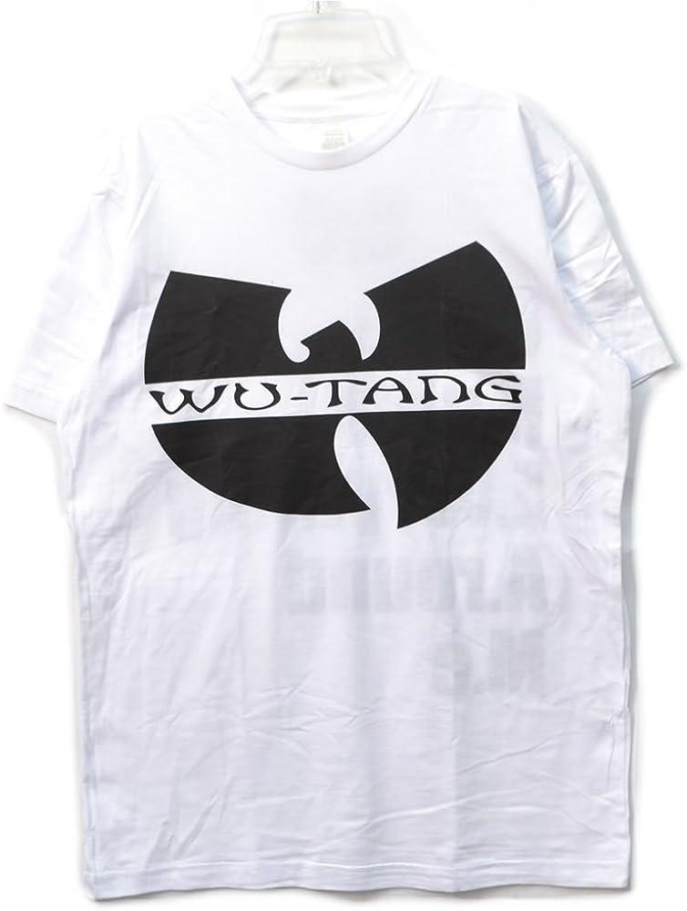 WU TANG CLAN LOGO HIP HOP RAP WHITE T-SHIRT
