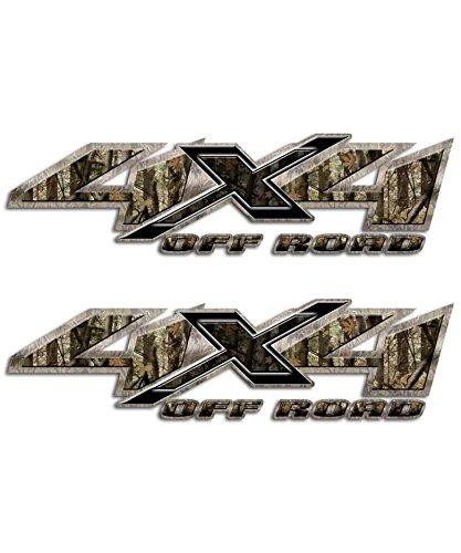 Shocker Camo 4x4 Hunting Truck Decal Set Silverado