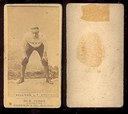 1887 Old Judge N172 Regular Baseball Card 445 Mike Sullivan Of