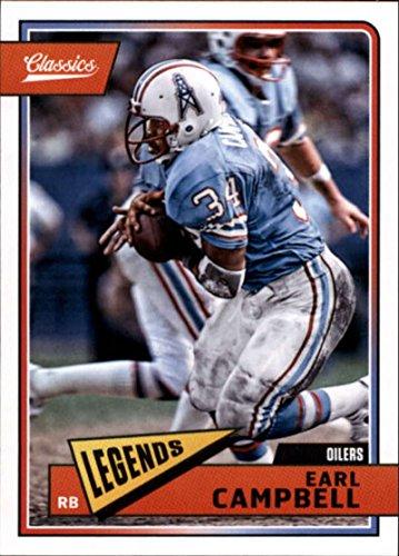 2018 Panini Classics #192 Earl Campbell Oilers Legend Football Card