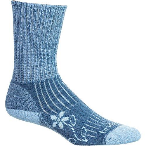 Bridgedale Comfort Trail Sock (Bridgedale Women's MerinoFusion Trekker Socks, Blue, Medium)