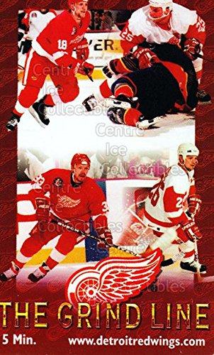 (CI) Kirk Maltby, Darren McCarty, Joey Kocur, Kris Draper Hockey Card 1996 Detroit Red Wings Phone Cards 2 Kirk Maltby, Darren McCarty, Joey Kocur, Kris Draper from Detroit Red Wings Phone Cards
